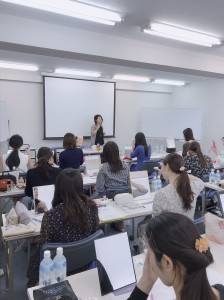 ミスジャパンメイク講師